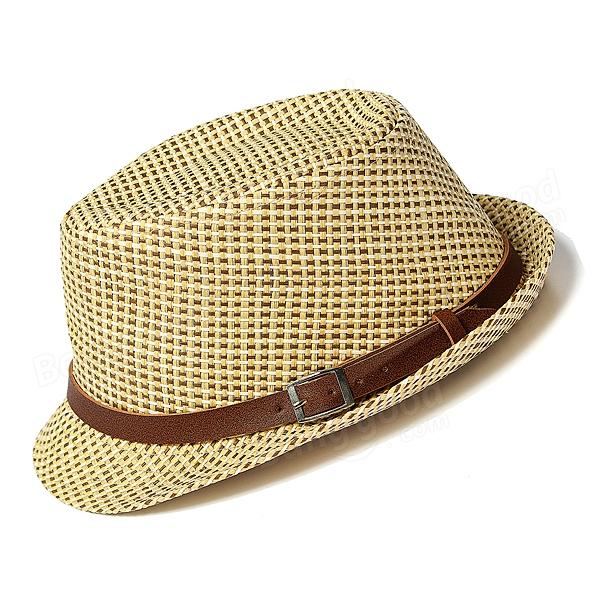 baby children jazz hat cool straw sun cap at banggood