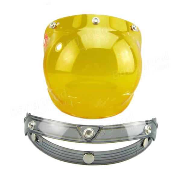 Motorcycle Helmet  Bubble lens