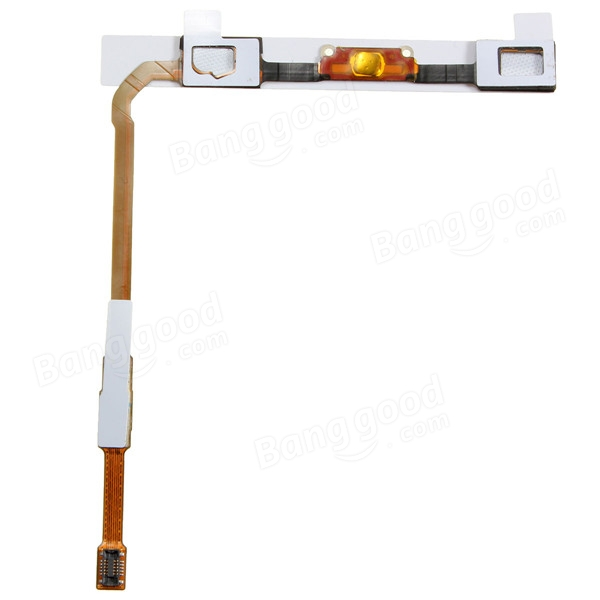 Home Menu Button Touch Sensor Keyboard Flex Cable For Samsung S4 i545