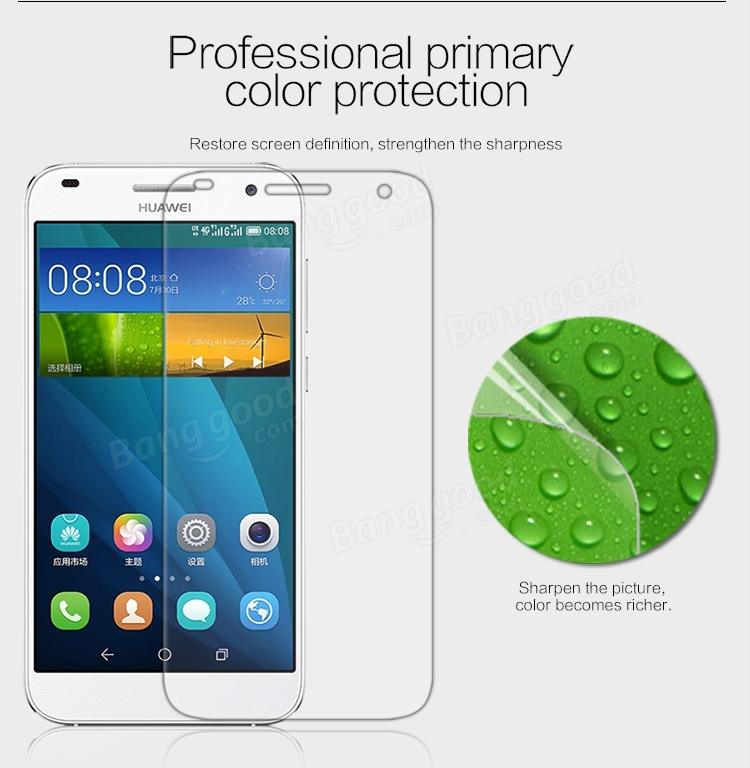 NILLKIN Matte Scratch-resistant Protective Film For HUAWEI Ascend G7