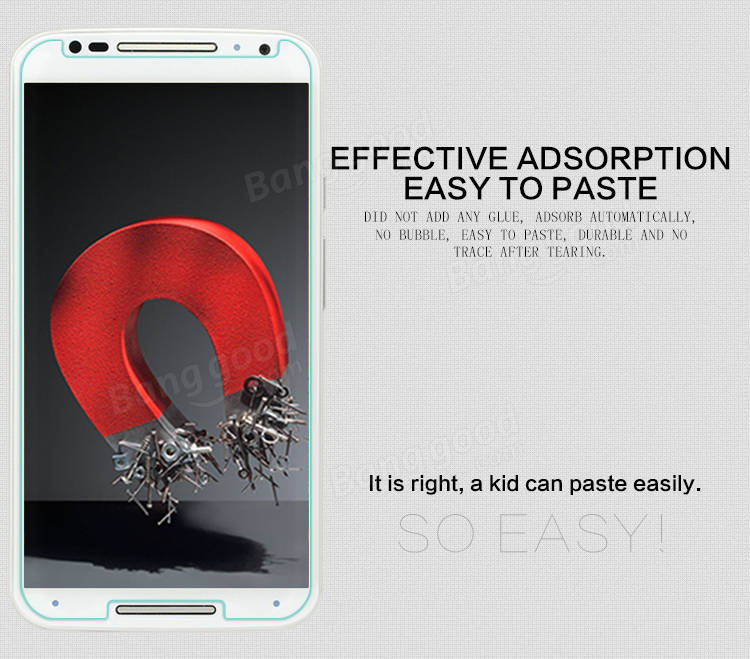 H+ Anti-Explosion Glass Screen Protector For MOTO X+1(XT1085)