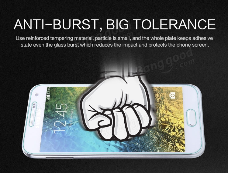 NILLKIN H+ Anti-Explosion Tempered Glass Film For Samsung Galaxy E5