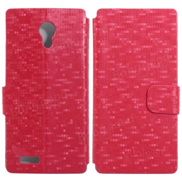 PU Leather Flip Open Protective Case For DOOGEE PIXELS DG350