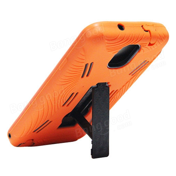 Silicone PC Stripe Scaffold Robot Case For Samsung Galaxy Note 3 N9000