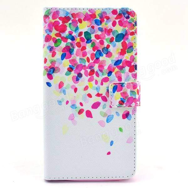 Painted Flip PU Leather Case Cover For Samsung Galaxy Note4 N9100