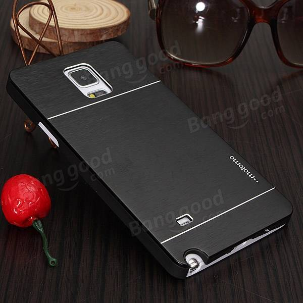 Thin Brushed Hard Back Cover Case For Samsung Galaxy Note 4 N9100