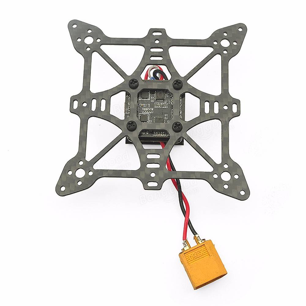 Eachine Aurora 90 90MM Mini Brushless FPV Multirotor Racing Frame 27g Carbon Fiber & Aluminium Construction