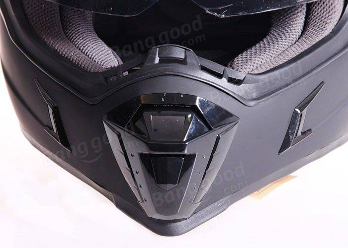ECE Dual Lens Motorcycle Full Face Helmet Safety Racing Off-Road for GDR-311