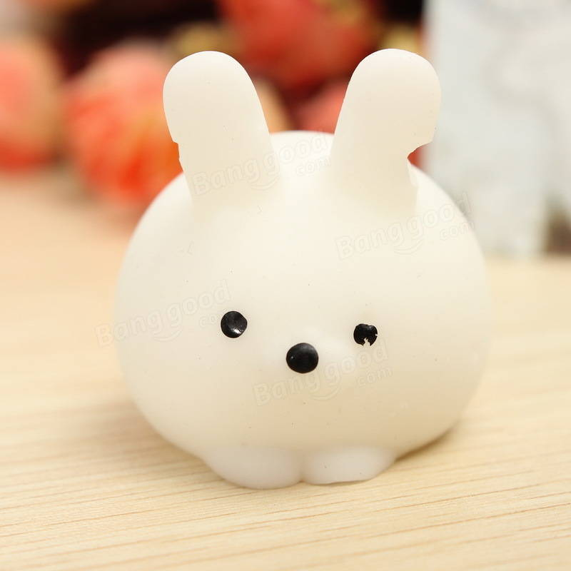 Squishy Squeeze Ball : Bunny Ball Squishy Squeeze Cute Healing Toy Kawaii Collection Stress Reliever Gift Decor Sale ...