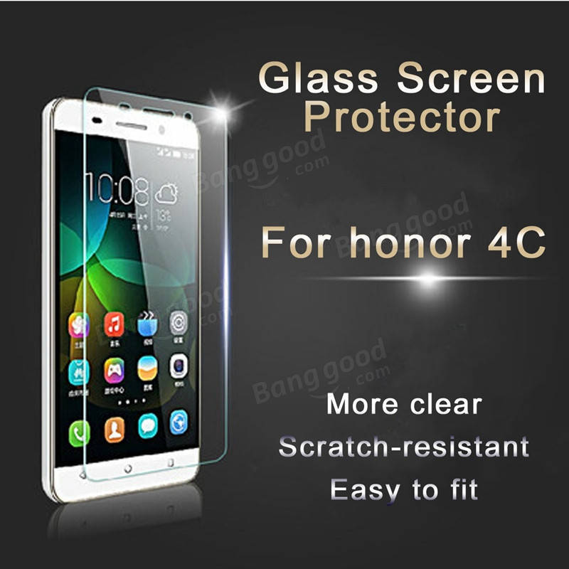 9H Premium Tempered Glass Film Cover Guard Screen Protector For Huawei honor 4C