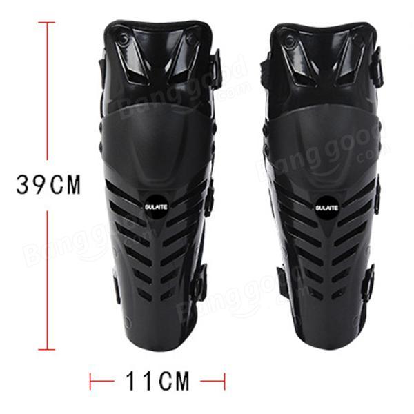 オートバイスポーツ黒Kneepadモトクロスライディングスキー用保護装備