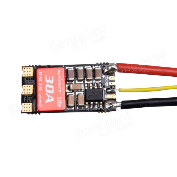 Gemfan Maverick 30A 2-6S BLHeli 32bit Brushless ESC DSHOT1200 Ready for RC Drone FPV Racing