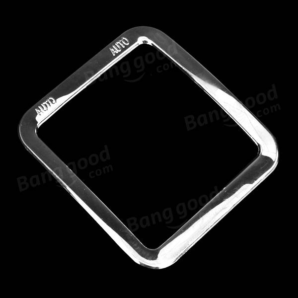 Car Window Control Panel Rim Decoration Silver ABS for Jeep Wrangler 2011 to 2016