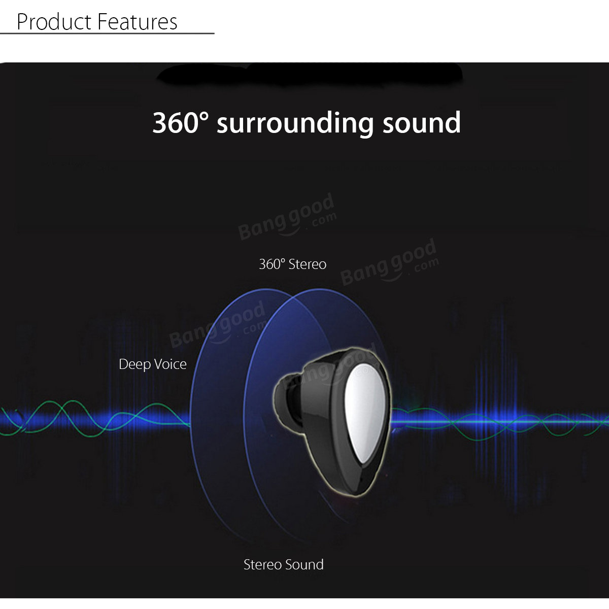 TWS-K2 Bluetooth Stereo Earphone With Charging Dock Wireless In-ear Headphone For iPhone Xiaomi