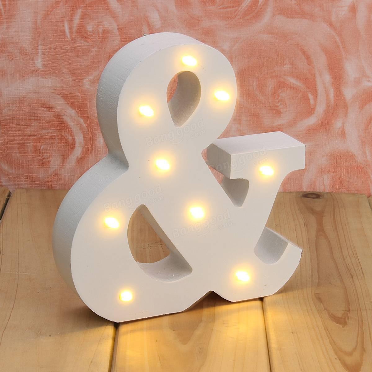 Light Letters For Sale Wooden Led Letter Sign Alphabet Night Light For Wedding