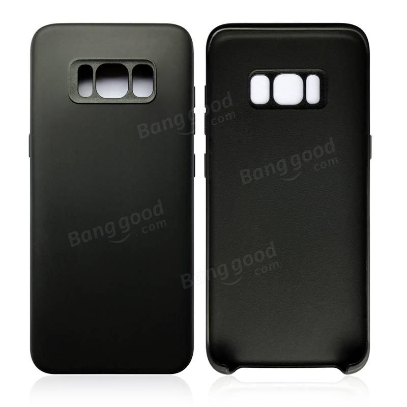 TPU PC Shockproof Anti-skid Protective Phone Case Cover for Samsung Galaxy S8 Plus