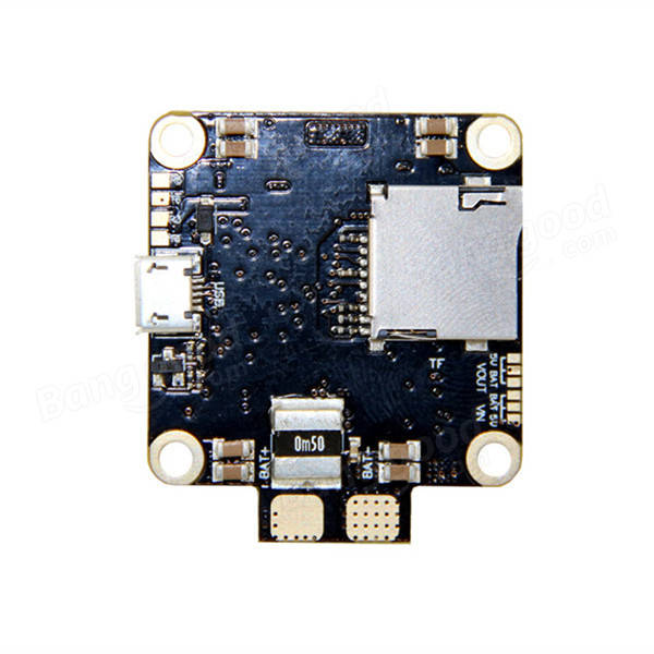 30.5x30.5mm SPC Maker F4 2-4S Flight Controller Built-in PDB Current Sensor for RC FPV Racing Drone