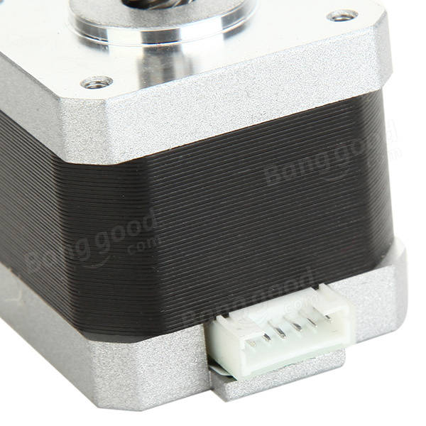 42 Lead Screw Linear Stepper Motor 1.5A 40mm 300mm Rod For 3D Printer