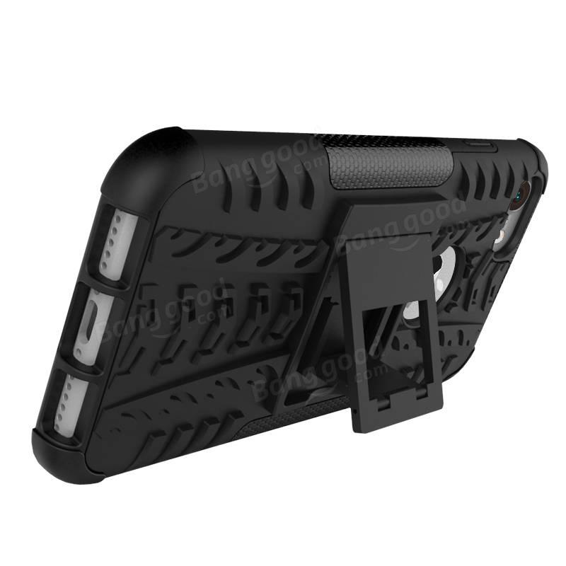 ショック防止アンチスキッドアンチドロップキックケースケースハードソフトハイブリッド頑丈なケースカバーiPhone 7用