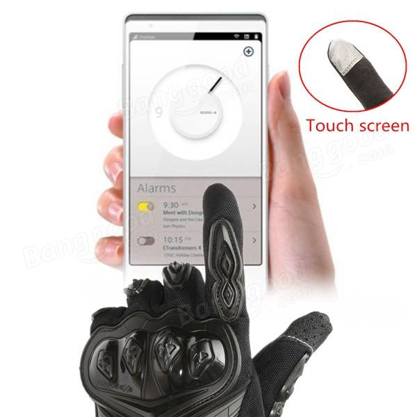 Motorcycle Touch Screen Gloves Racing Cycling Full Finger Protect