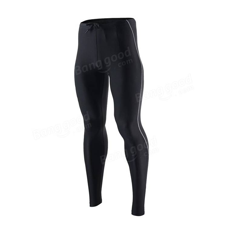 ARSUXEO Men Sports Compression Tights Base Layer Cycling Running Pants Sports Fitness Legging
