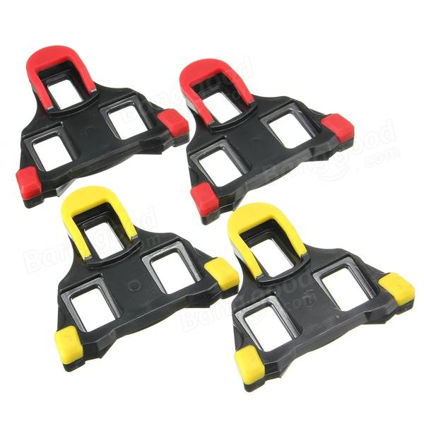 Road Bike Cycling Self-locking Pedal Cleats Set For ...