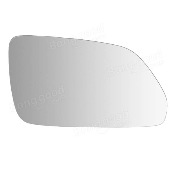 Car Mirror Glass Right Driver Side Wide Angle Wing Heated for VW Polo 2002-2009