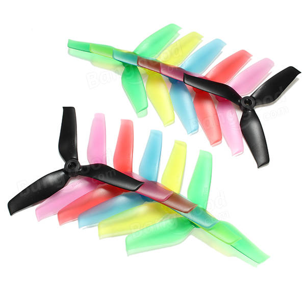 10 Pairs Racerstar 5042 5x4.2x3 3 Blade Propeller 5.0mm Mounting Hole For FPV Racing Frame