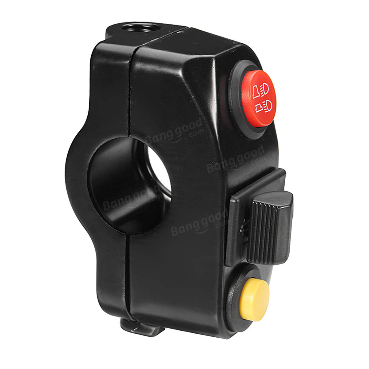 7/8inch Motorcycle Handlebar Mount Scooter ATV Bike Kill Horn Low/High Beam Switch