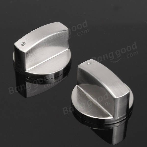 Universal Silver Gas Stove Knobs Cooker Oven Hob Control