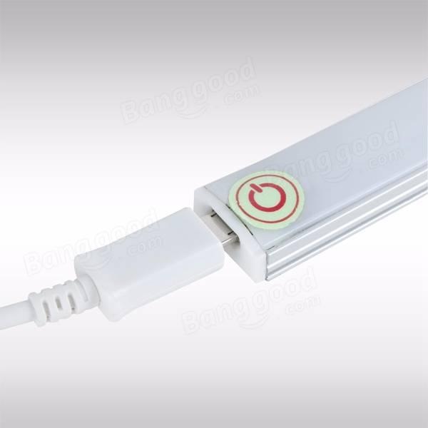 Portable Cabinet Light : Portable led usb touch sensor night bar light for cabinet
