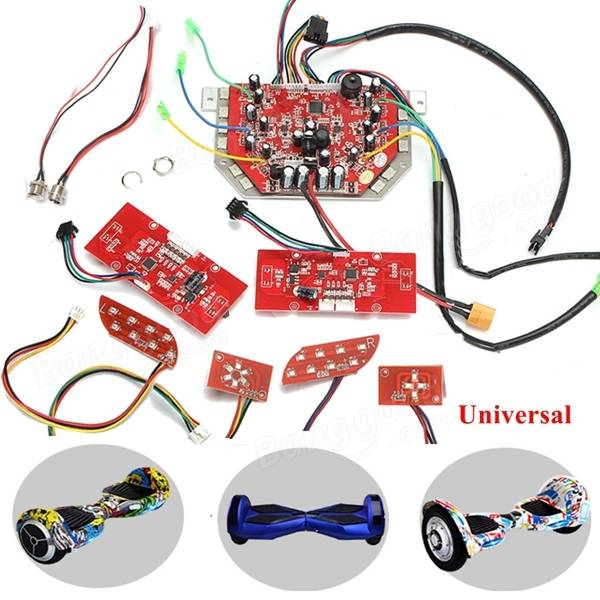 Red Main Circuit Board Motherboard Replacement Parts Repair Kit For Balance Scooter
