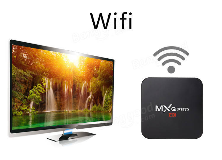 MXQ Pro 4K Ultimate KODI Android 5.1 Lollipop Amlogic S905 Quad Core 1GB/8GB TV Box Android Mini PC