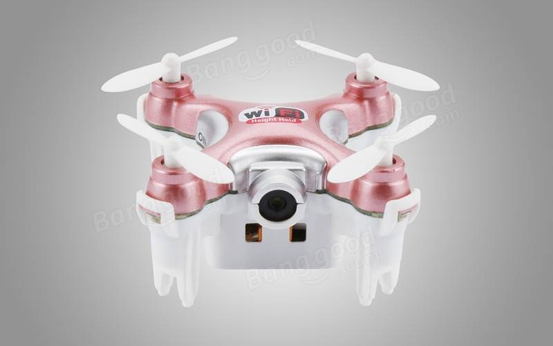 Cheerson CX-10WD CX10WD Mini Wifi FPV with High Hold Mode 2.4G 6-axis RC Quadcopter BNF/RTF