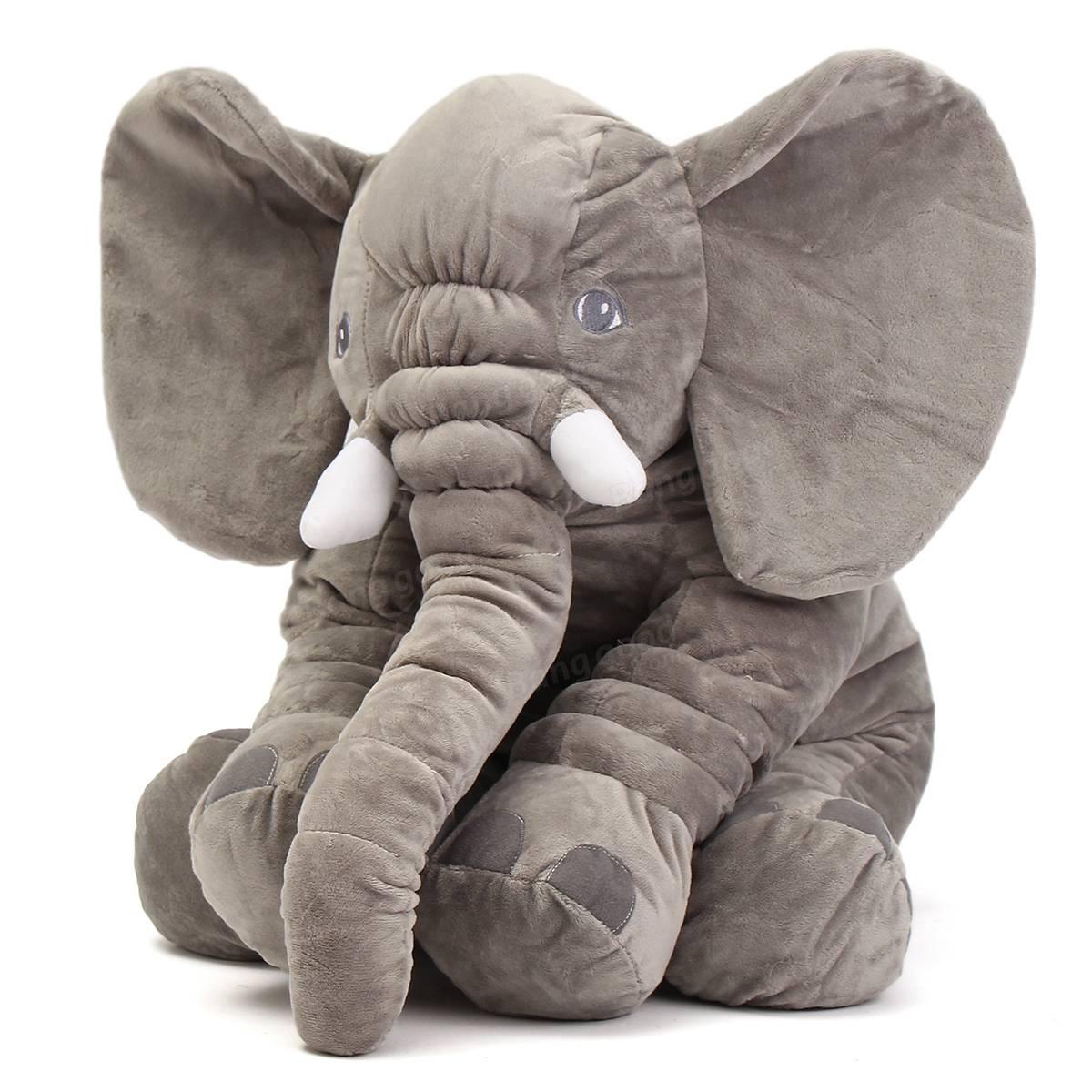 Elephant Stuffed Toy : Quot cm cute jumbo elephant plush doll stuffed animal