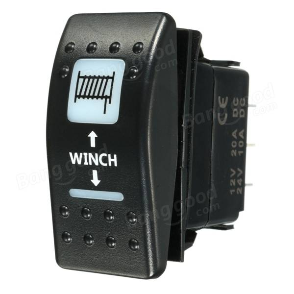 winch rocker switch wiring diagram wedocable winch motor