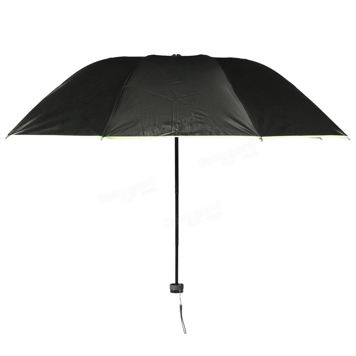 portable folding anti uv windproof parasol sunny rainy. Black Bedroom Furniture Sets. Home Design Ideas