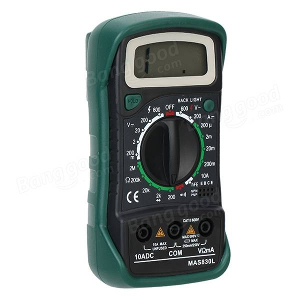 Electronic Tester Showing Failure Lights : Mas l handheld digital multimeter with lcd back light