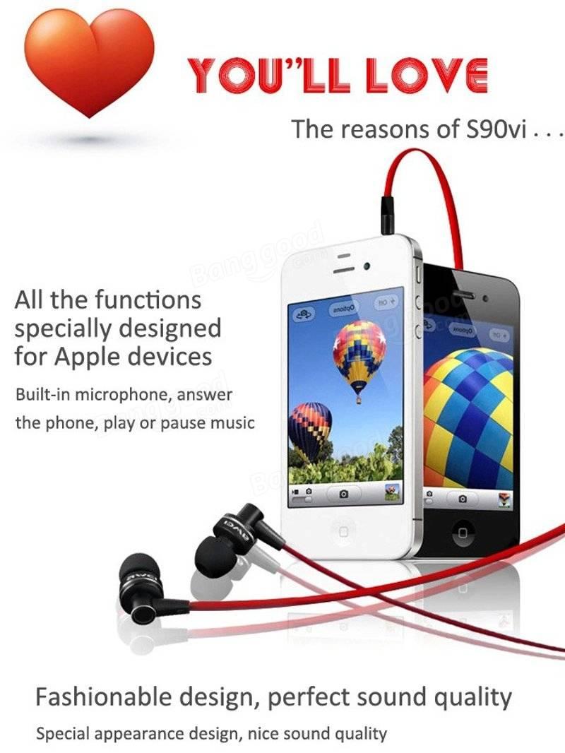 アウェイ ES 90viイヤホンマイク3.5 MMのジャックボリュームコントロールイヤホンiPhone 6SのAppleデバイス用