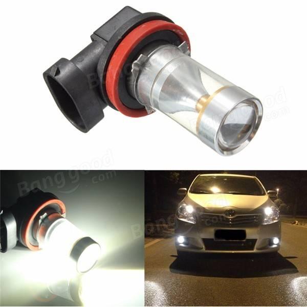 30W H11 XBD LEDドライビングフォグライト昼間DRLヘッドランプバルブ