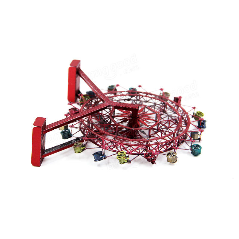 Aipin Ferris Wheel DIY 3D Puzzle Stainless Steel Model Kit
