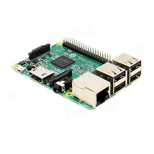 5 In 1 Raspberry Pi 3 Model B + Lithium Battery Board + V35 Acrylic Box + Pi Fan + Heatsink Kit