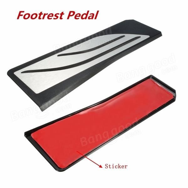 Car Gas Brake Footrest Foot Pedals Plate Pad Kit For BMW 5 6 7 Series AT LHD F10 F11 F12