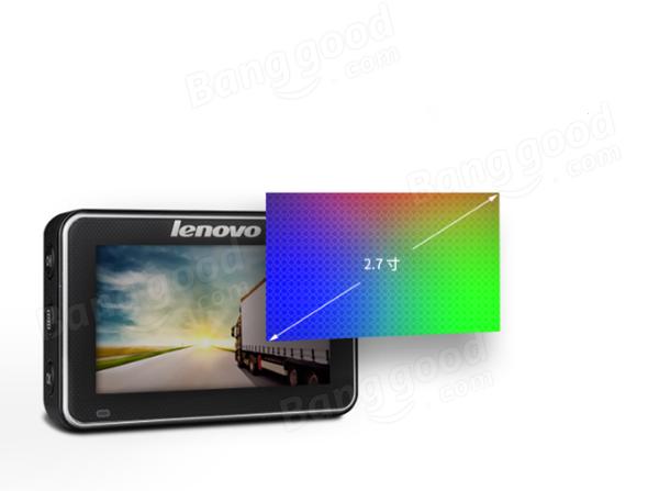 レノボMU50ノヴァテック96650車DVR HD 1080Pナイトビジョン2.7インチLCD HDMI出力