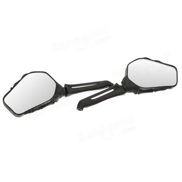 Motorcycle Skull Hand Claw Shadow Rear View Anti-glare Mirrors Aluminium Universal