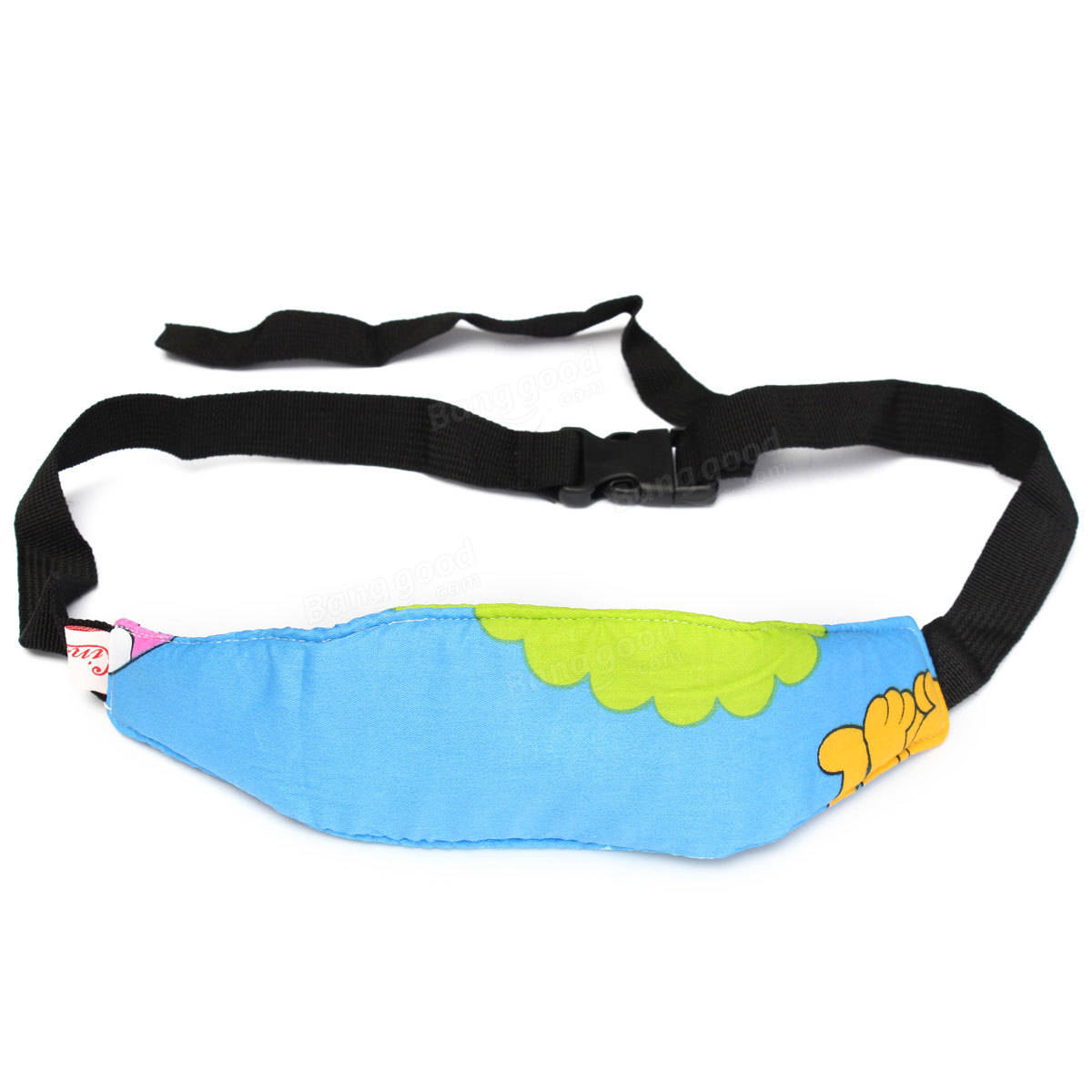 Safest Toddler Kids Car Seat Sleep Aid Head Support Belt Eliminates Pressure
