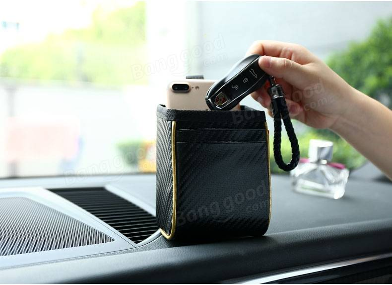 REMAX Car Travel Storage Bag Phone Sunglasses Cards Seat Hanger Organizer Box Tidying Pocket