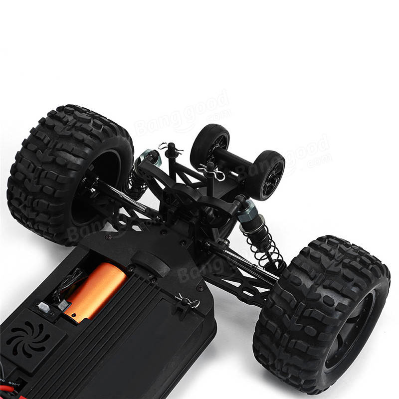 ZD Racing 9106-S 1/10 Thunder 2.4G 4WD Brushless 70KM/h Racing RC Car Monster Truck RTR Toys
