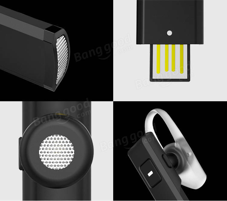 QCY J05 Business Wireless Bluetooth 4.1 Headphone Earphone+Spare Charging Box