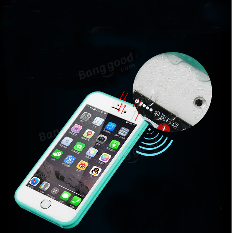 GP Ultra-thin TPU Waterproof Shockproof Touch Screen Protective Sleeve For iPhone 6 6S 4.7 Inch